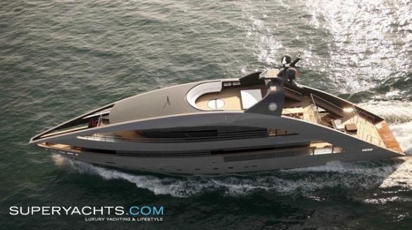 """Ocean Pearl is a 41m (134' 6"""" ft) motor yacht, custom built in 2010 by ..."""