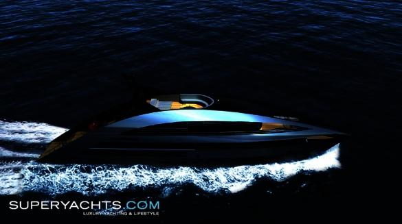 "Ocean Sapphire is a 41m (134' 6"" ft) motor yacht, custom built in 2009 by ..."