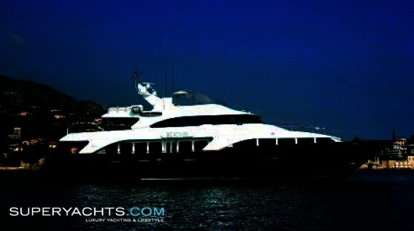 "Motor Yacht KOS. KOS (formerly Benetti Classic 116) is a 36.60m (120' 0"" ft) ..."