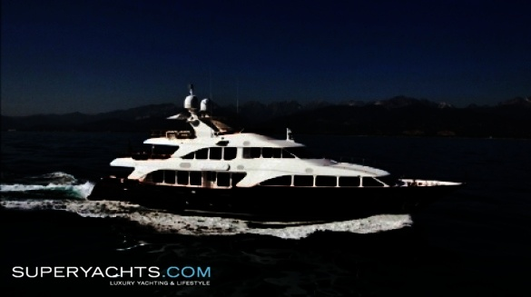 African Queen Yacht (ex: Blue Bay, Benetti Classic 120)