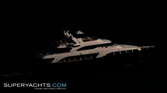 "Blu (formerly Kos) is a 35.10m (115'1""ft) Benetti Classic 35 motor yacht ..."