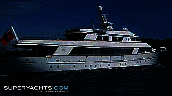 "Sirahmy (formerly Lady in Blue) is a 43m (141' 0"" ft) motor yacht, ..."