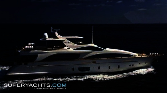 "Antonia II is a 31.40m (103' 0"" ft) Azimut 105 motor yacht built in 2005 by ..."