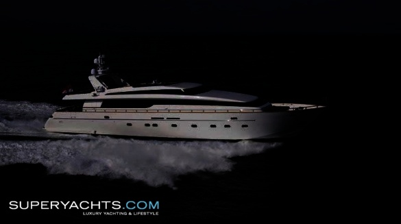 "Keep Cool is a 33m (108' 3"" ft) Sanlorenzo 108 Flybridge Series motor yacht ..."