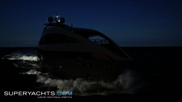 Motor yacht Ocean Emerald, built in 2009 by Italian shipyard Rodriquez ...