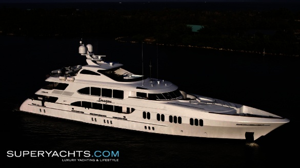 "Meridian (formerly Imagine) is a 49m (160' 9"" ft) motor yacht, custom built ..."