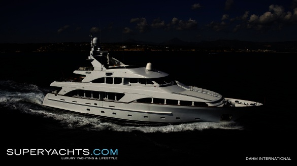 ... 100' motor yacht built in 2006 by Benetti. The yacht's interior has been ...