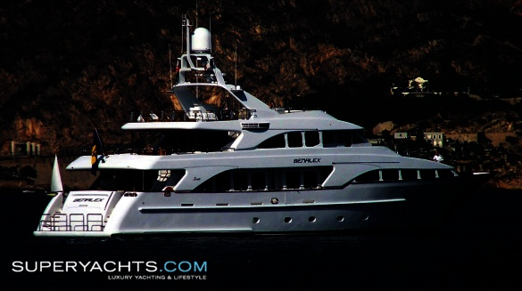 """Almadhoub (formerly Benalex) is a 35m (114' 9"""" ft) Benetti Classic 35 motor ..."""