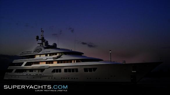 "Ocean Victory is a 75.75m (248' 6"" ft) motor yacht, custom built in 2009 by ..."