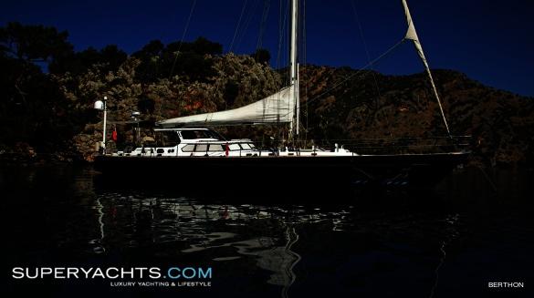 "Sail Yacht Ocean Leopard. Ocean Leopard is a 24.7m (81' 0"" ft)"