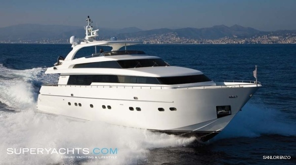 Semi Custom Yacht Sanlorenzo SL88