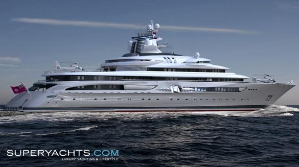 B+V 120 MY/X Yachts. Semi Custom Yacht B+V 120 MY/X