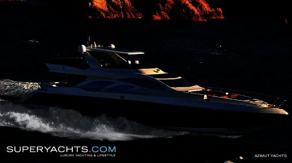 Semi Custom Yacht Azimut Leonardo 100