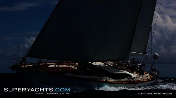 Semi Custom Yacht Oyster 82