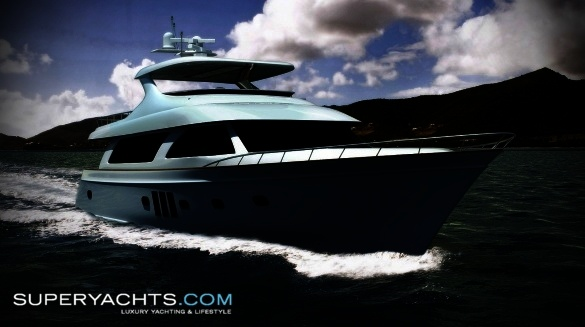Semi Custom Yacht Ocean Alexander 90