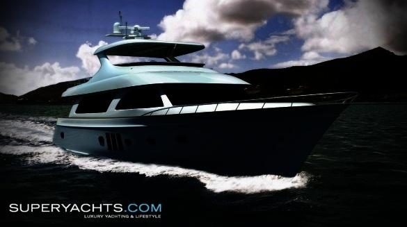 Semi Custom Yacht Ocean Alexander 88