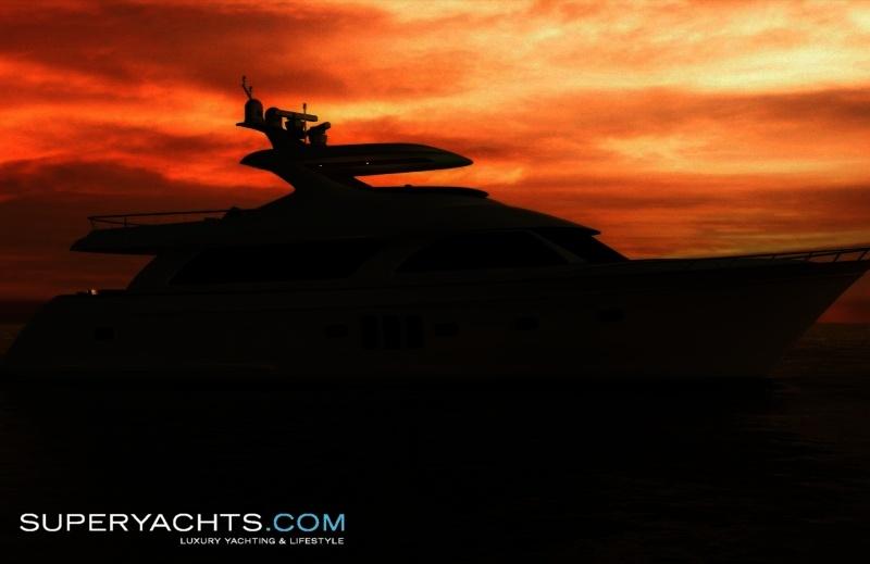 Ocean Alexander 85 Semi-Custom Superyacht Photos