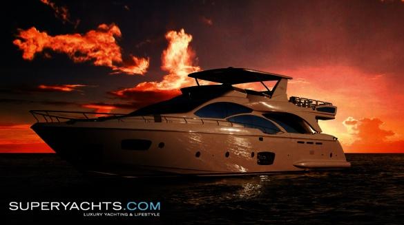 Semi Custom Yacht Azimut 95