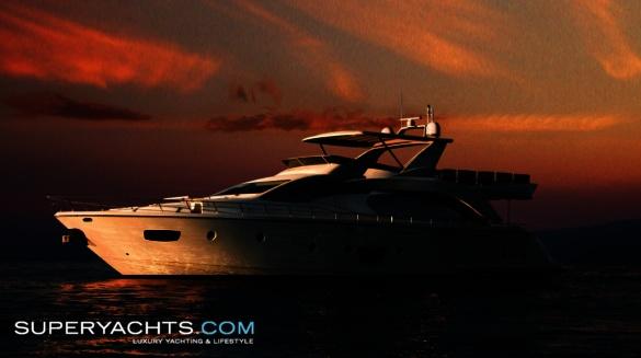 Azimut 85 Specification. Semi Custom Yacht Azimut 85