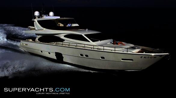 Ferretti 780 Specification. Semi Custom Yacht Ferretti 780